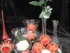 Glasgeschenke und Christbaumkugeln