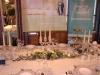 festlicher Tisch mit Porzellangeschirr, Gläsern, Besteck und Dekorationsartikeln von Villeroy und Boch