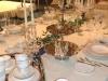 festlich gedeckter Hochzeitstich- Geschirr, Gläser und Besteck von V&B